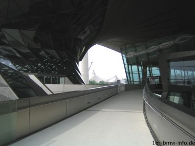 BMW Welt - Nähe zum Olympiastadion