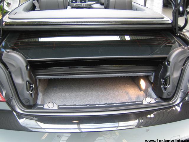 bmw 3er cabrio kofferraum mae. Black Bedroom Furniture Sets. Home Design Ideas